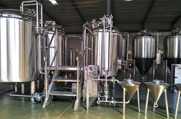 Switherland three vessels 500L brewery