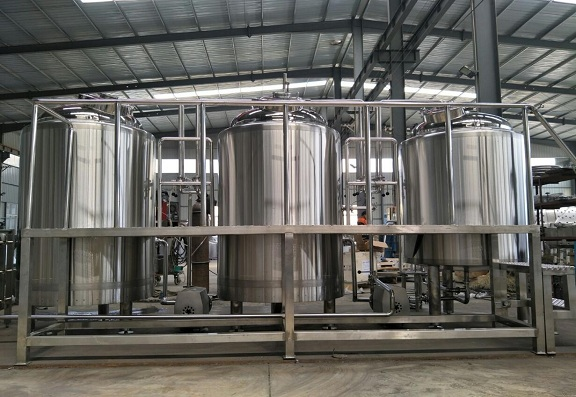 This is our new 7BBL brewery equipment