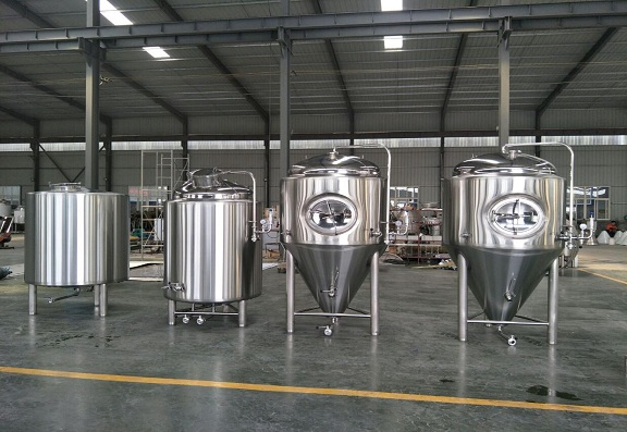 We export the 1000L Microbrewery equipment to USA