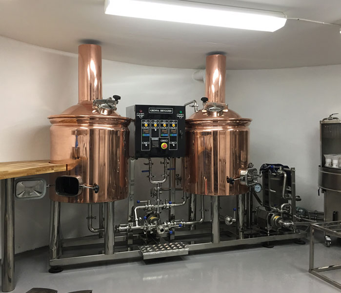 200L Red Copper Brewery