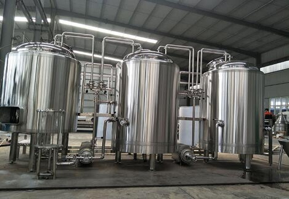 An introduction of 100L brewery equipment