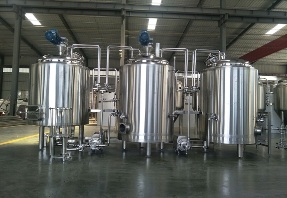 The 7BBL beer brewing system is our representative product