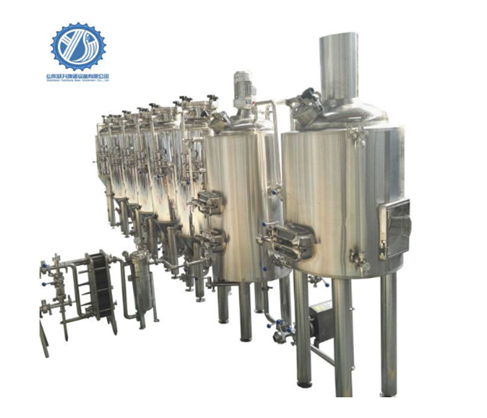 Commercial Beer Brewing Systems