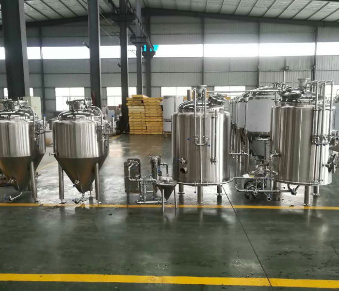 3BBL Beer Brewing Equipment Nano Brewery for sale