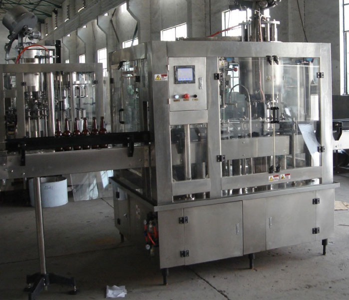 1000bph~200bph Bottling Plant(Filling-Washing-Capping in One)