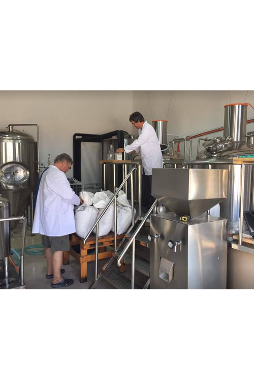 Namibia 1000L brewery