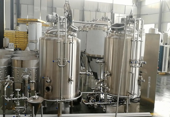 The new 300L mini brewery is very popular