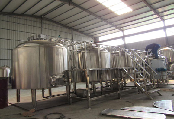 Sealing And Hygiene Of 1500L Brewery Equipment