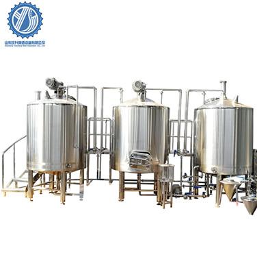Beer Equipment Operation Process