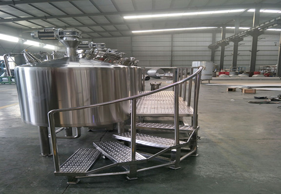 What Is The Brewing Process Of 100L Brewery Equipment A?