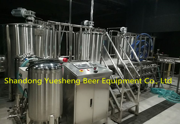 What Is The Brewing Process Of 800L Brewery?