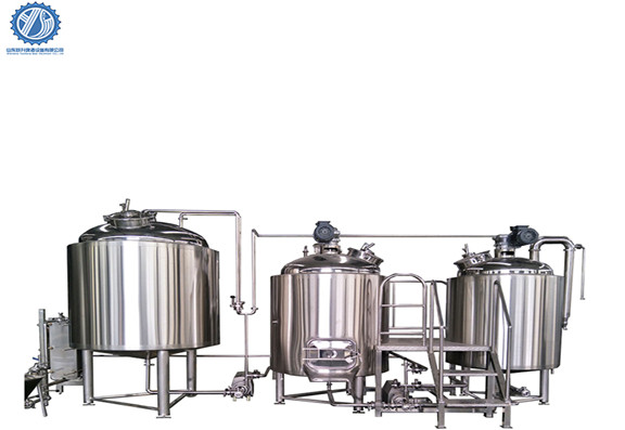 500L Brewery Equipment Operation Process